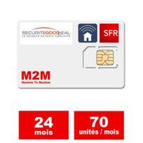 SecuriteGOODdeal - Abonnement Gsm M2M 24 Mois S