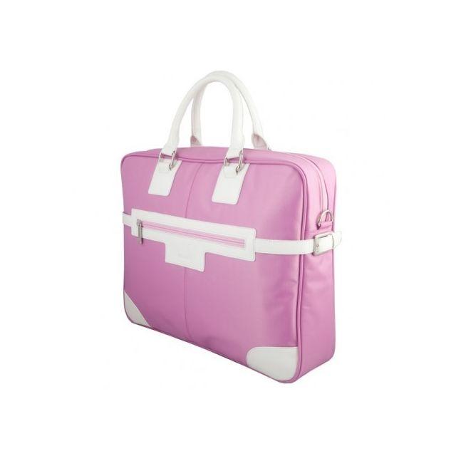 a561423a58 Urban Factory - Sacoche pour portable 16 Pink Vicky's Bag aux couleurs  tendances Urban Factory Réf