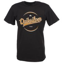 Quiksilver - Tee shirt manches courtes Player tarmac mc tee Gris 52680