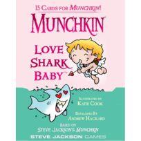 Steve Jackson Games - Jeux de société - Munchkin Love Shark Baby : 1 Booster