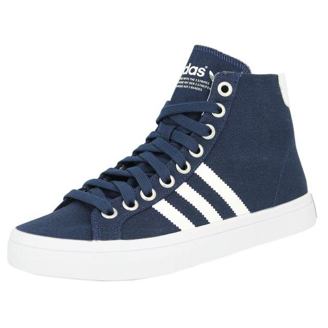 Chaussures Court Vantage Mid Noir Homme Adidas Noir Achat