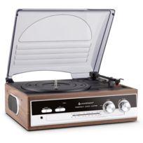 Soundmaster - Pl186H Platine vinyle radio Fm/AM