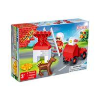 Banbao - jeu de construction - young pompier 9 pieces