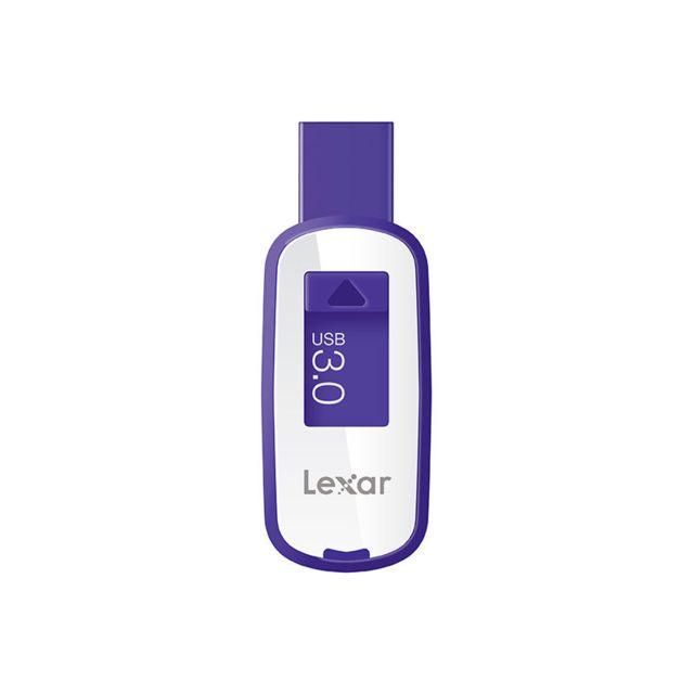 LEXAR - Clé USB 3.0 - JumpDrive S23 - 64Go Pourpre small blister