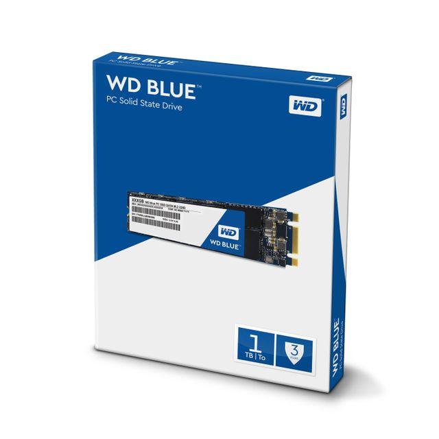 WESTERN DIGITAL - SSD interne WD Blue M.2 500 Go - SATA 6 Gbit/s 2,5