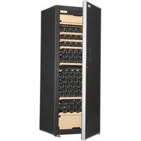 Artevino - Cave à vin multi-usages - 3 temp 200 bouteilles - Noir Aci-art222M - Pose libre