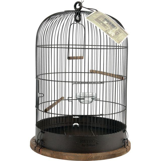 29de866baa0c78 ZOLUX - Cage Retro Lisette - pas cher Achat   Vente Cage à oiseaux ...