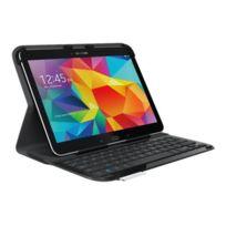 Logitech - Ultrathin Keyboard Folio - Clavier et étui - Bluetooth - français - pour Samsung Galaxy Tab 4 10.1 po