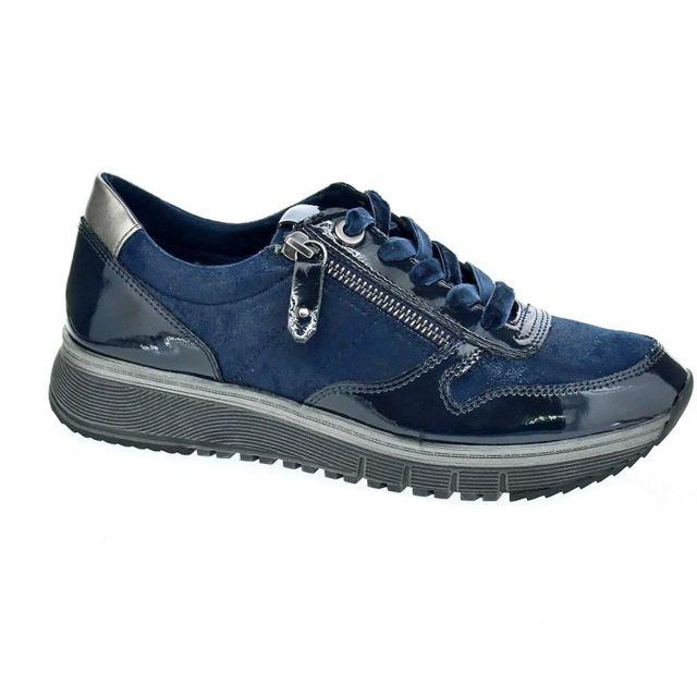 Vente Tamaris Chaussures Femme Baskets Basses Modele 23602 Bleu Pas Zltljrix-145851-5557745