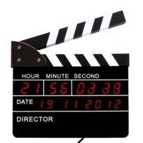Cadeau Maestro - Horloge Clap de Cinéma