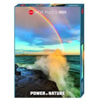 Heye - Puzzle 1000 pièces Power of Nature : Rainbow
