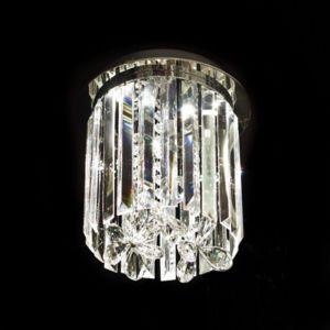 kosilum lustre plafonnier design cristal led 25cm irene 25cm x 30cm x 25cm pas cher achat. Black Bedroom Furniture Sets. Home Design Ideas