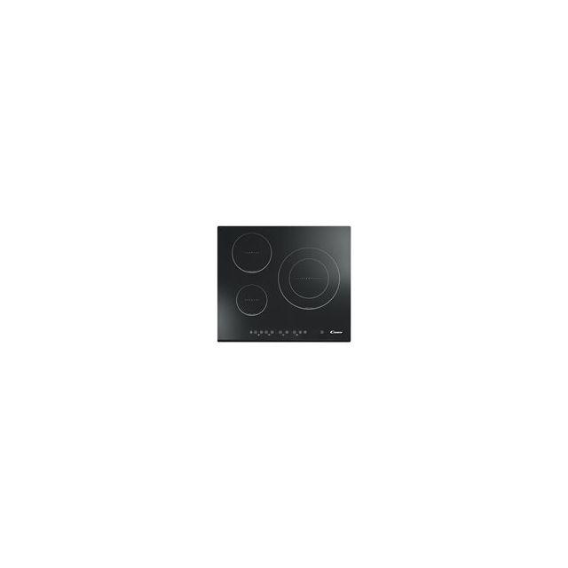 CANDY table de cuisson à induction 60cm 3 feux noir - cie3637b