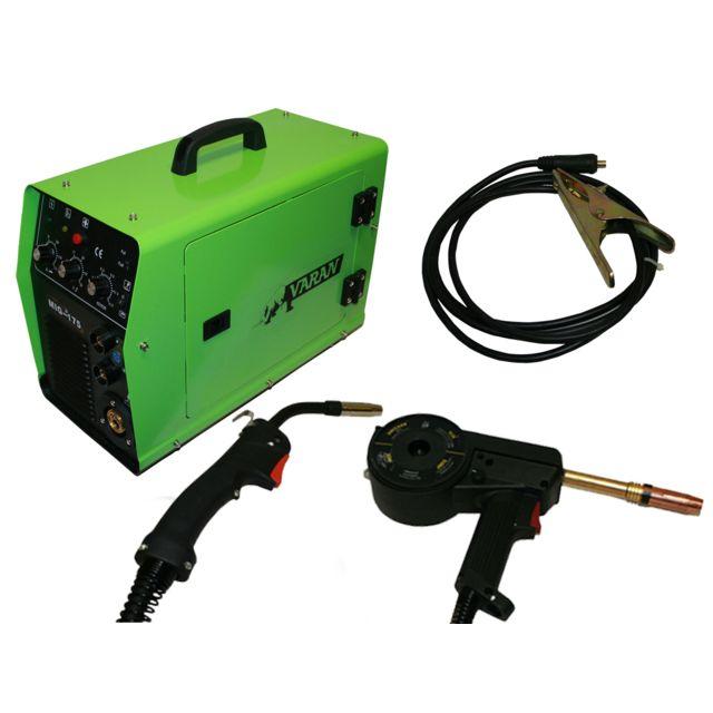 Varan Motors - Poste à souder Inverter 2 en 1 Mig 175A - pas cher Achat   Vente  Postes à souder à l arc - RueDuCommerce b3aa3815792d
