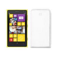 Celly - Etui Slim à rabat pour Nokia Lumia 1020 coloris blanc