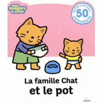 Milan - La famille chat et le pot