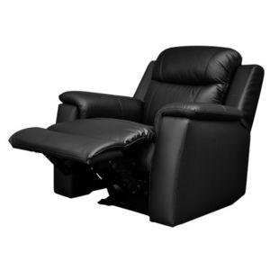 MARQUE GENERIQUE Fauteuil Relax EVASION En Cuir Noir Cm X - Relax fauteuil