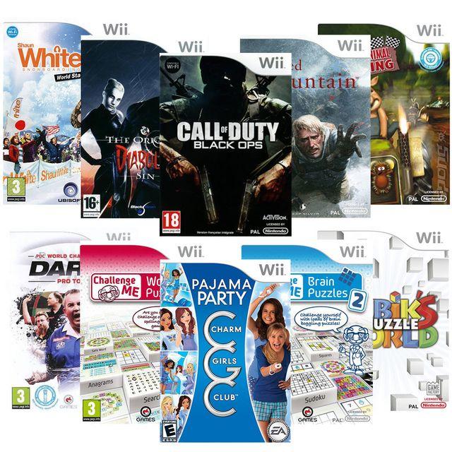 Marque Generique - Pack 10 Jeux Puzzle - Wii