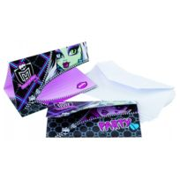 Riethmuller - Cartes d'invitation Monster High x6