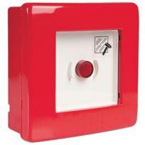 Gewiss - Coffret étanche de coupure d'urgence avec bouton poussoir 1 No + 1 Nf
