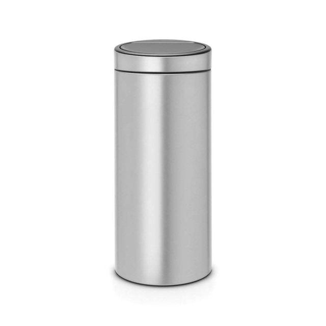 BRABANTIA Touch Bin New, 30L - Metallic Grey