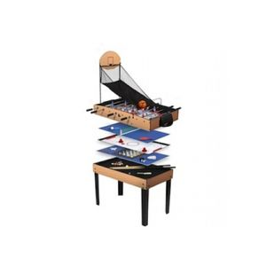 arcades rene pierre table de jeux 15 en 1 pas cher achat vente baby foot rueducommerce. Black Bedroom Furniture Sets. Home Design Ideas
