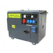 Varanmotors - Générateur électrique Diesel insonorisé Groupe électrogène 5.5kVA, 400V, 230V