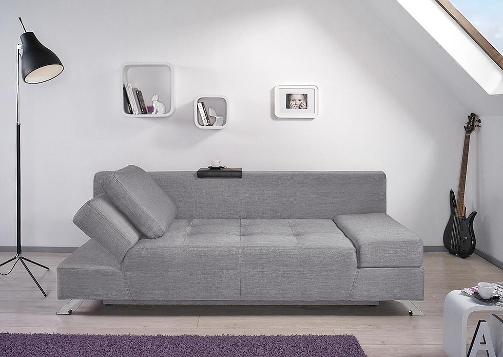 bobochic canap angie 2 places convertible gris clair achat vente canap s pas chers. Black Bedroom Furniture Sets. Home Design Ideas