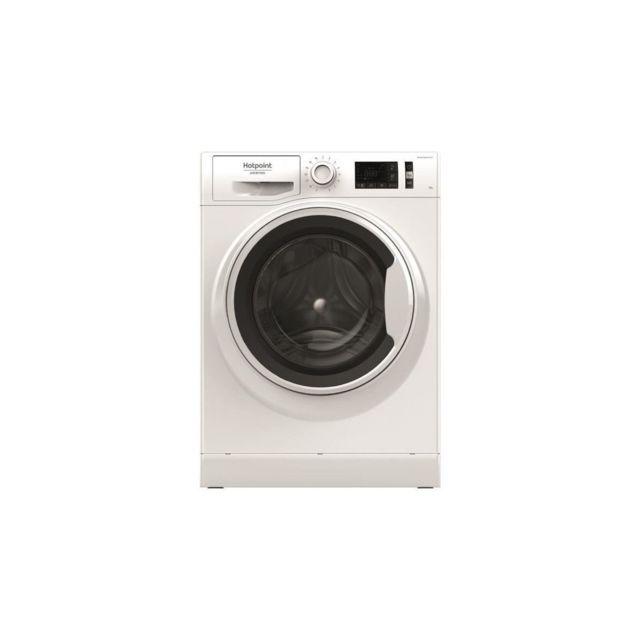 Hotpoint Nlm11925wwaeu - Lave Linge Frontal - 9kg - 1200trs/min - A+++ - Blanc