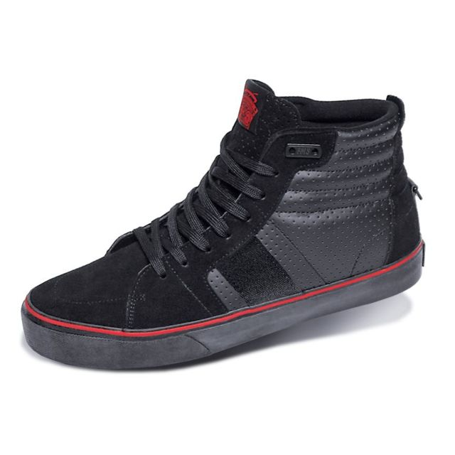 Famous Baskets montantes collector Og High Black Red Introuvables