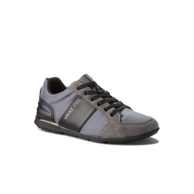 Versace Sneaker Bimatière Ysbsb2 Jeans Les Gris pas