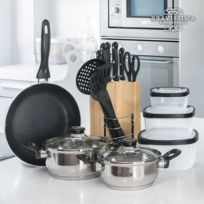 Exclusif Shopping Vip - Set de Cuisine Bravissima Kitchen 17 pieces