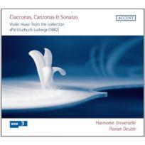 Accent - Chaconnes, Canzones Et Sonates - Cd