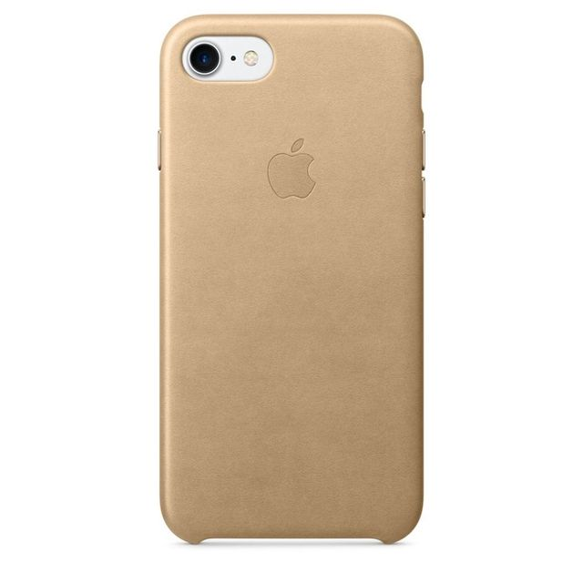 APPLE iPhone 7 Leather Case - Fauve - MMY72ZM/A