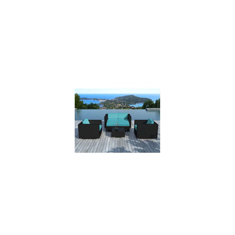 Awesome Salon De Jardin Monaco Noir Ideas - Home Design Ideas ...