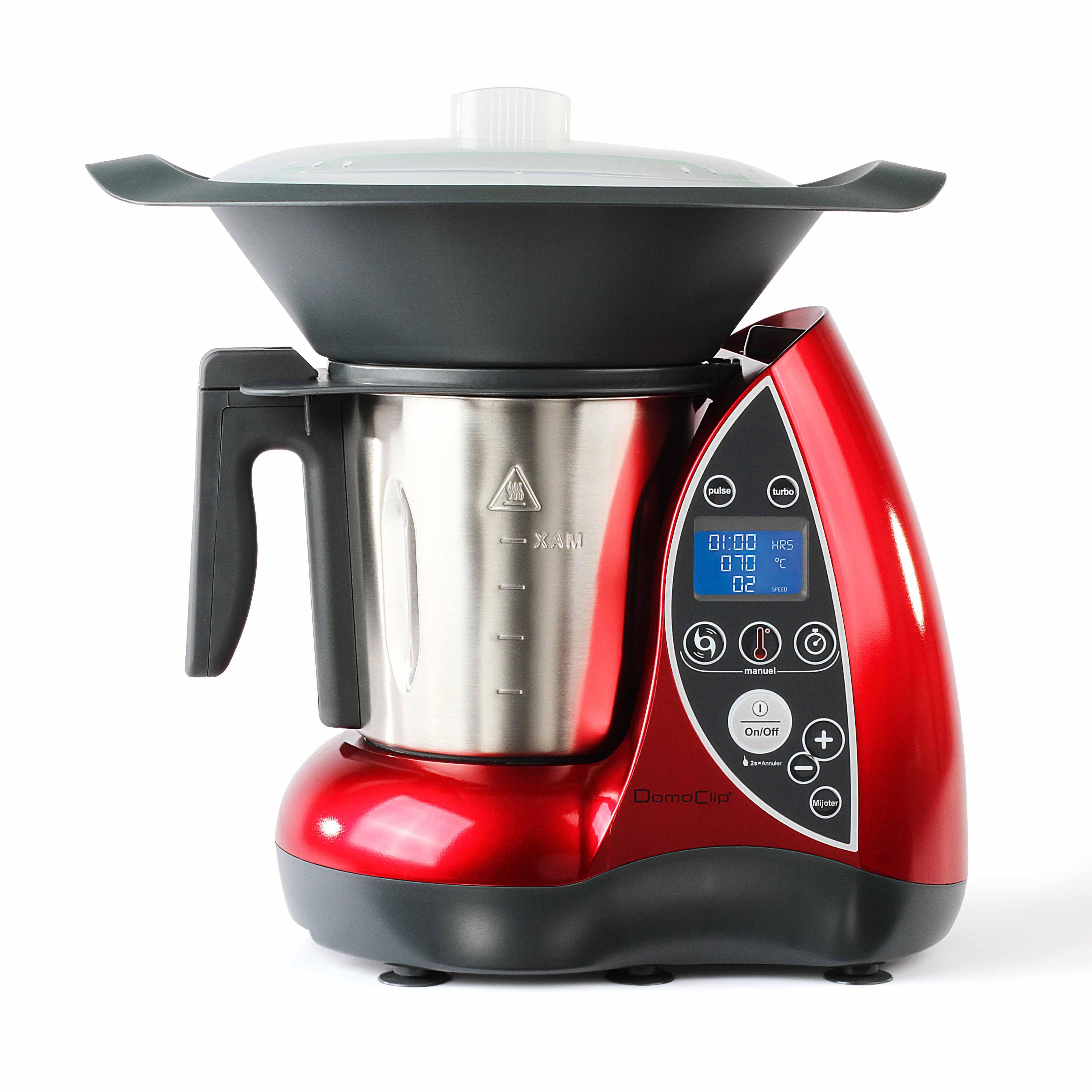 Domoclip robot culinaire chauffant dop142 achat robot - Robot per cucinare ...