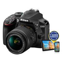 NIKON - appareil photo reflex - d3400 + objectif 18-55