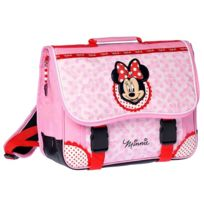 Minnie Et Ses Amies - Cartable Minnie Mouse rose 38 cm Haut de Gamme