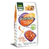 Hamiform - Crunchy's Chips de Carotte pour Rongeur - 90g