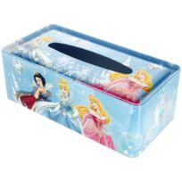 Disney - Distributeur Boite à Mouchoirs Rangement Licence Princesse Bleu