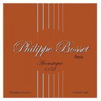 Bosset - Jeu de cordes guitare acoustique Philippe Phosphore Bronze 11-52