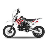 Nitro Motors - Dirt bike 110 semi auto rouge