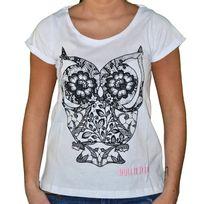 Hollifield - T Shirt Manches Courtes - Femme - Fs109 - Blanc