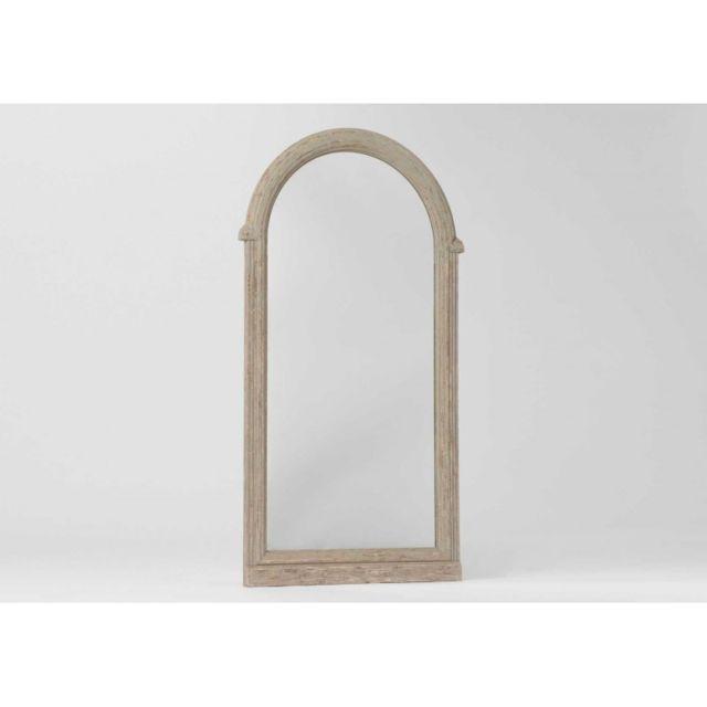 Autre Miroir Gris Arrondi H136CM