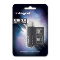 Integral - Lecteur de carte mémoire externe Usb 3.0