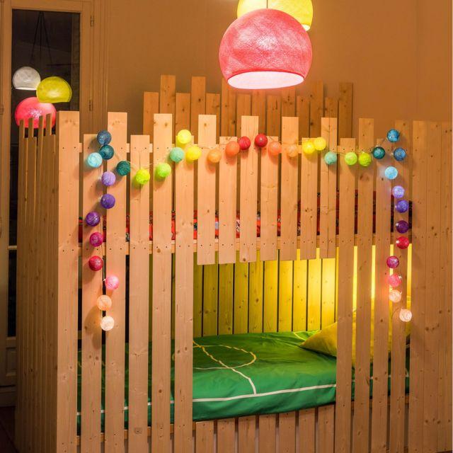 La Case De Cousin Paul - Guirlande Lumineuse Jimi Led - 20 boules Multicolore