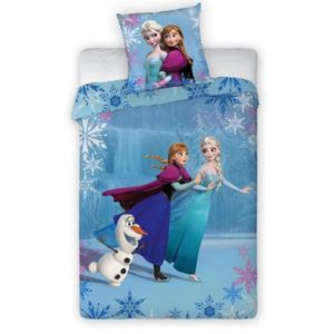 la reine des neiges parure de lit on ice disney multicolore nc pas cher achat vente. Black Bedroom Furniture Sets. Home Design Ideas