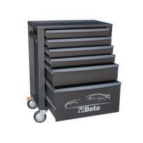 Beta - Servante d'atelier 6 tiroirs noire C24S 6/N 024002069