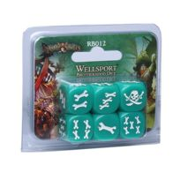 Cool Mini Or Not - Jeux de société - Rum And Bones: Wellsport Brotherhood Dice