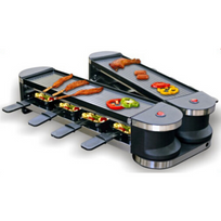 Emerio - Appareil à raclette avec gril 1 200 W Rg-109528.1